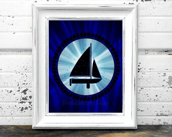 Sailboat Anatomy Print,#Sail,#Sailor,#Boat,#Ocean,#Sea,#Ship,#Cruise,#Water,#Beach,#Vacation,#DIY,#HomeDecor,#OfficeDecor,#Captain,#Blue