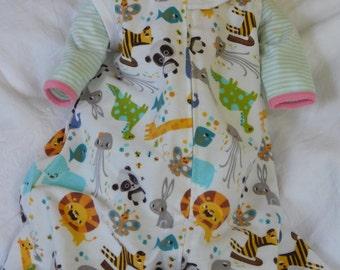 BABY SLEEP SACK   Medium Only    Sleeveless flannel