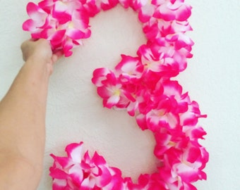 Lei Letter or number Decoration