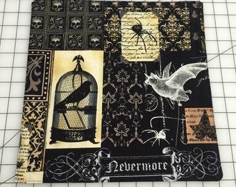 Edgar Allen Poe Raven handkerchief