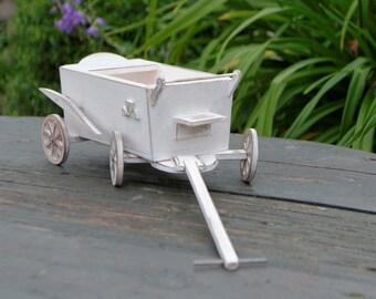 Handmade Wooden Cart Miniature 1:6 Pullip Blythe Momoko Barbie BJD Lati
