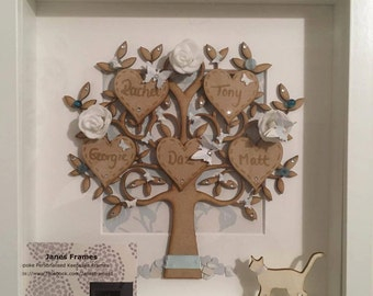 Family Tree 3D Personalised to the highest standard