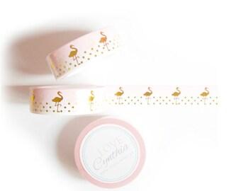 Flamingo Washi Tape - Exclusive Design