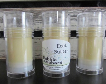 Heel Butter, All Natural, Lotion Bar, 1 oz push tube