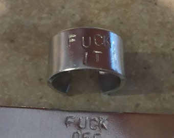 Say What You Feel Cuff Ring