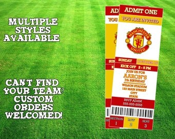 Manchester United Invitation
