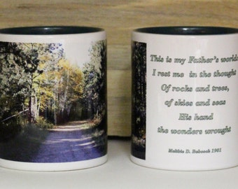 This Is My Father's World Coffee Mug
