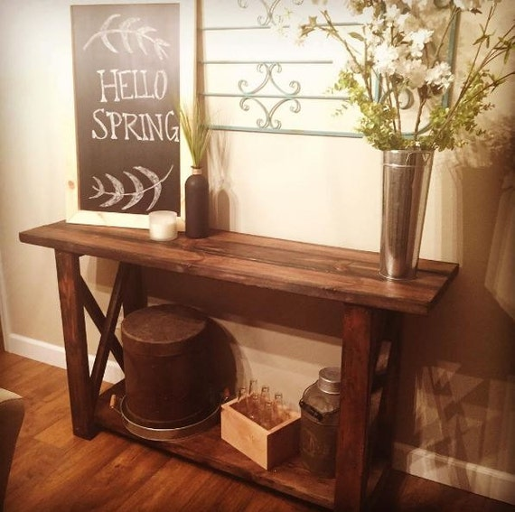 Foyer Console Game : Entryway table console by milkweedmill on etsy