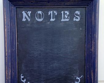 NOTES Chalkboard -- Blue