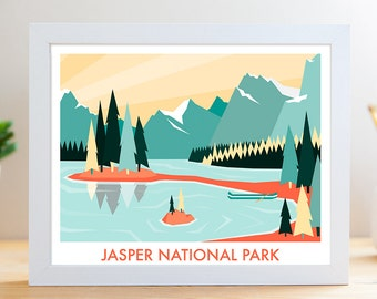 "Jasper National Park // 8x10"" Archival Print"