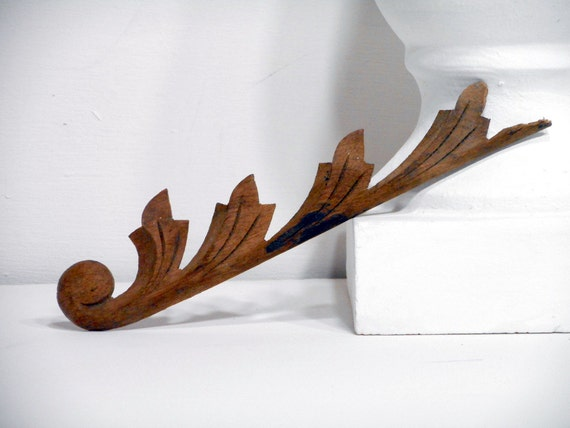 Embellished Wood Applique Antique Architectural By Lifeproject