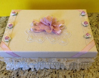Hand-Crafted keepsake boxes
