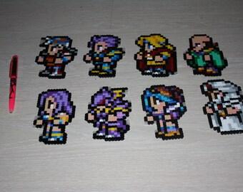 Final Fantasy 2 II FFRK Perler Art