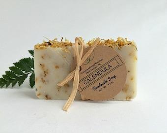 Calendula Citrus Soap- Sensitive Skin- Organic Soap- Vegan Soap- Natural Skin Care