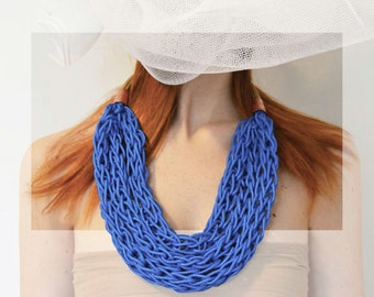 Knitted Necklace I001