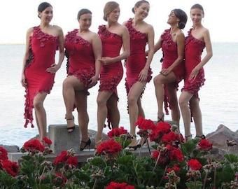 Tango dance team dresses