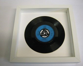 """Lynsey De Paul - """"My Man And Me"""" - Framed Record"""