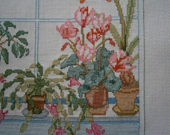 Pouch floral window
