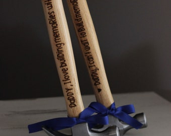 Engraved Hammer - Personalized Hammer - Tool Gift for Men - Grandpa Gift - Dad Gift - Groomsmen Gifts - Bridal Party Gift - Anniversary Gift