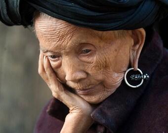Portrait photography, Fine Art Print,People of Vietnam,Wall Art, Travel Photography, Maadat, Street Photography,4x6,8x12,12x18,16x24,20x30