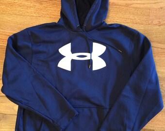 Under Armour Hoodie Sweatshirt - Large