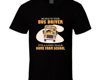 """Shop """"bus driver gift"""" in Clothing"""