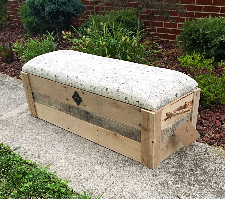 Hope Chest Entryway Bench Toy Box Storage Bench Storage