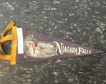 Vintage Niagara Falls Flag