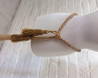 Vintage 1960's Sparkle Sash