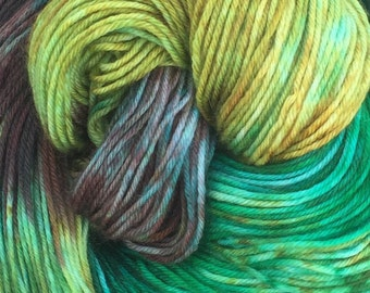 Two of a Kind Hand Dyed Merino Cashmere and Nylon Yarn READY TO SHIP