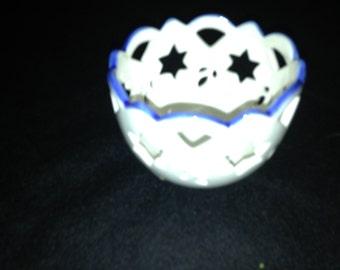 Judaica Treasure Votive Candlelight Holder