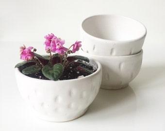 Textured Ceramic Mini Bowl