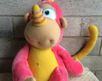 Rhinokey, Wuzzles plush, Disney the Wuzzles, Vintage 80s Wuzzles plush, Wuzzle