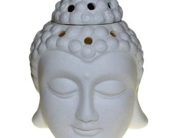 Oil Burner ceramic Buddha style.