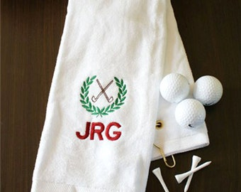 Golf Gift - Golf Gifts For Men - Golf Gift Ideas - Personalized Golf Gift - Golf Gifts For Dad - Golf Towel - Fathers Day -Golf Gift Women