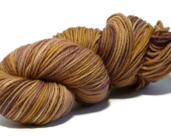 Morning Glow - Harvest DK - 100% Wool, Superwash - handdyed yarn - 8ply. 100grams/217metres. Ready to Ship