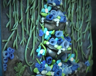 Fountain of flower - decorative box