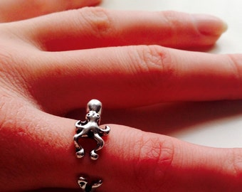 Octopus | Squid | Nautical | Statement Ring