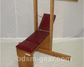 Adjustable Bondage Bench Made In The Usa By Bdsmgear On Etsy