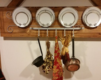 Decorative plate holder