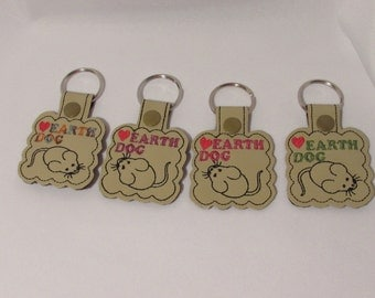 AKC Earth Dog, key chain, Dachshund, Westie, Westhighland terrier,  parson russell, terrier, AKC Earth Dog, scottish terrier,