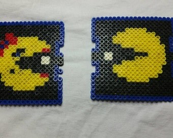 Mr. & Mrs. Pac-Man Drink Coasters