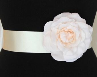 Ivory flower belt