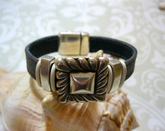 """Louis Vuitton 100% Authentic Monogram Upcycled/Repurposed Bracelets  """"The Western"""""""