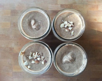 Stone Ground, Sprouted, Raw Almond Butter - All Organic Ingredients