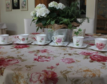 Tea cups hand made painted