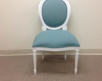 Country french shabby chic dining chair