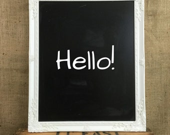 white framed chalkboard white baroque style framed wedding sign board white rococo style framed blackboard wedding planner board