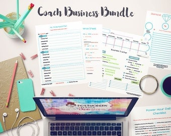 Coach Business Bundle: Success Checklists - Virtual Upline Trackers