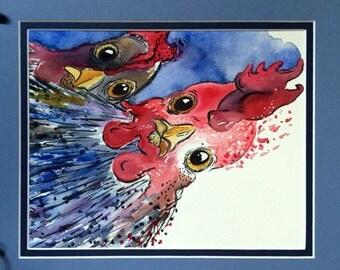 Chicken and Sidekick